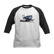 Siberian Husky Dog Sled Musher Mush! Tee