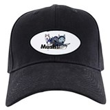 Siberian Husky Dog Sled Musher Mush! Baseball Hat