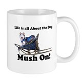 Siberian Husky Mush On! Coffee Mug