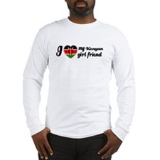 Kenyan girl friend Long Sleeve T-Shirt