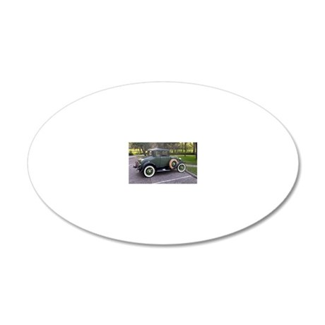 1-10 20x12 Oval Wall Decal