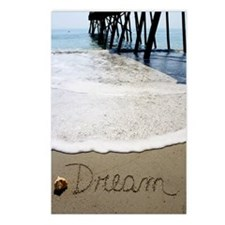 Dream by Beachwrite Postcards (Package of 8)