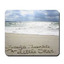Twinkle Little Star by Beachwrite Mousepad