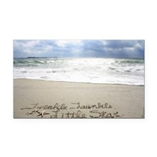 Twinkle Little Star by Beachw Rectangle Car Magnet