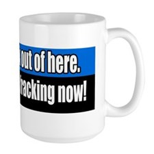 End-hydraulic-fracking-Bumper-Sticker Mug