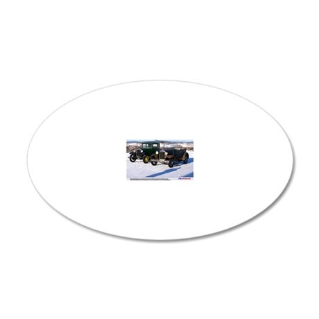 3-1 20x12 Oval Wall Decal