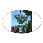 Monument, Giardini Oval Sticker