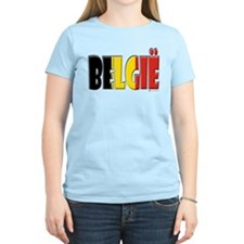 Word Art Flag Belgie T-Shirt