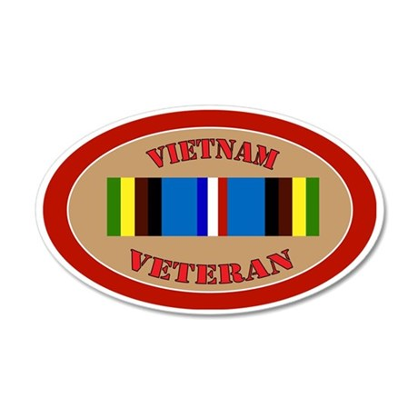 vietnam-Expeditionary-oval 35x21 Oval Wall Decal