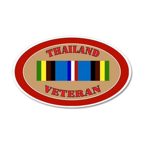 thailand-Expeditionary-oval 35x21 Oval Wall Decal