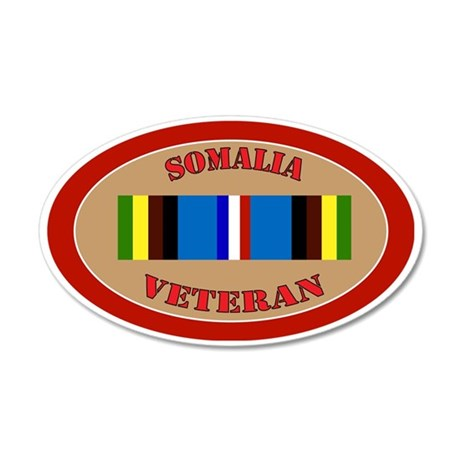 somalia-Expeditionary-oval 35x21 Oval Wall Decal