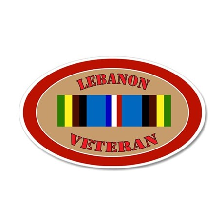 Lebanon-Expeditionary-oval 35x21 Oval Wall Decal