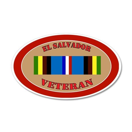 el-salvador-Expeditionary-ov 35x21 Oval Wall Decal