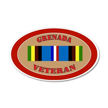 grenada-Expeditionary-oval 35x21 Oval Wall Decal
