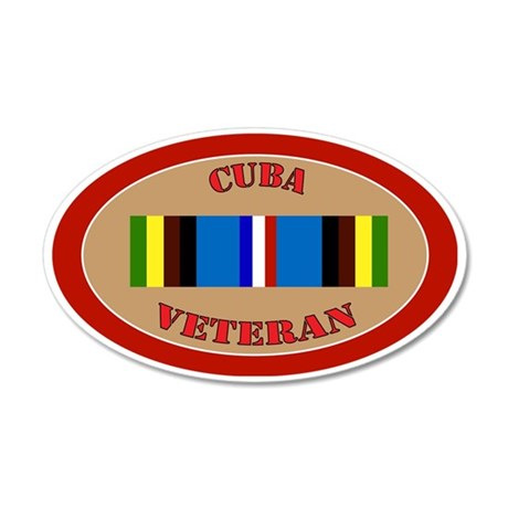 cuba-Expeditionary-oval 35x21 Oval Wall Decal