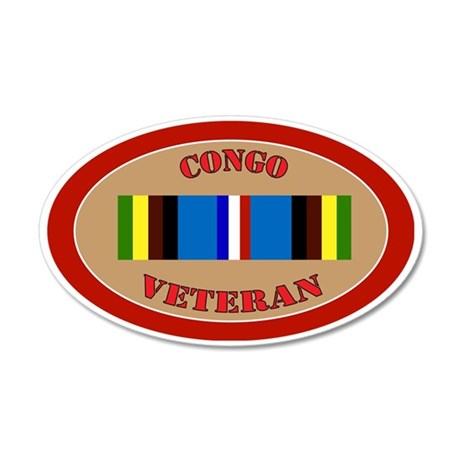 congo-Expeditionary-oval 35x21 Oval Wall Decal