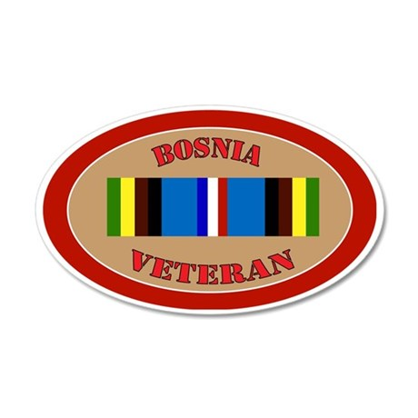 bosnia-Expeditionary-oval 35x21 Oval Wall Decal
