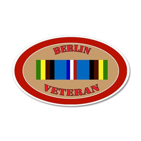 berlin-Expeditionary-oval 35x21 Oval Wall Decal