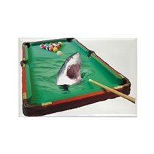 Pool Shark Rectangle Magnet