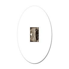 nook sleeve)557_nirvana 20x12 Oval Wall Decal