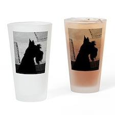 scottieprofile Drinking Glass