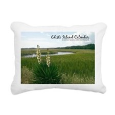 calendar cover edisto Rectangular Canvas Pillow