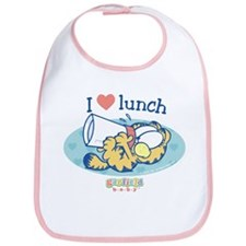 Love Lunch Garfield Baby Bib
