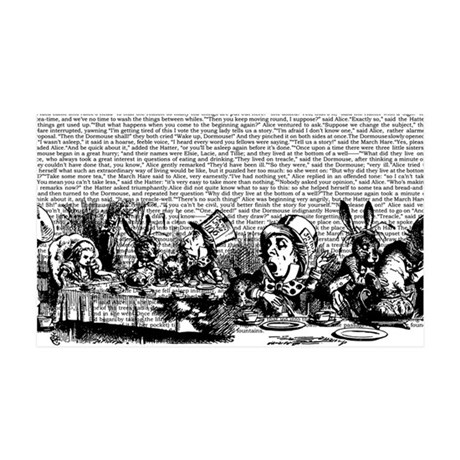 alice-vintage-border_bw_10-833x18 35x21 Wall Decal