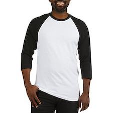 Instant Human White Baseball Jersey