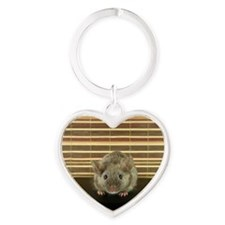 Mousey Heart Keychain