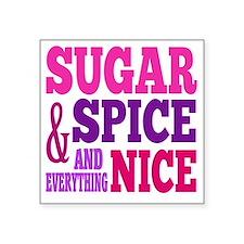 """SugarSpice Square Sticker 3"""" x 3"""""""