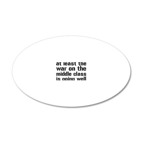 middlewar3 20x12 Oval Wall Decal