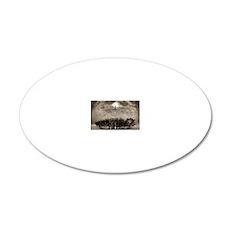 tile  box_86_nirvana 20x12 Oval Wall Decal