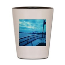 Blue Sky Shot Glass