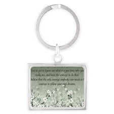 follow_your_passion-1282011 Landscape Keychain
