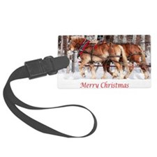 5x7cardmerry christmasjpg copy Luggage Tag