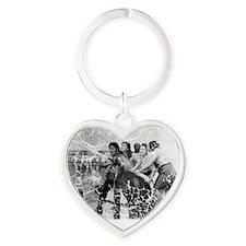 pearl harbor Heart Keychain