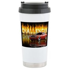 dodge chall Ceramic Travel Mug