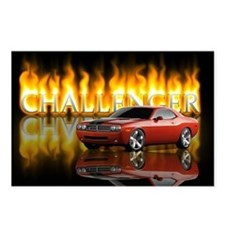 dodge chall Postcards (Package of 8)
