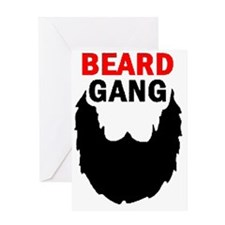 BEARD GANG Greeting Card