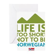 Norway Greeting Card