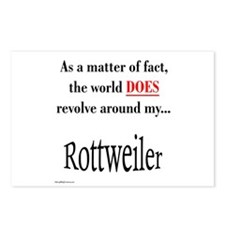 Rottweiler World Postcards (Package of 8)