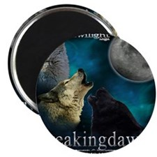 Twilight Breakingdawn Moon Wolfs Howling La Magnet