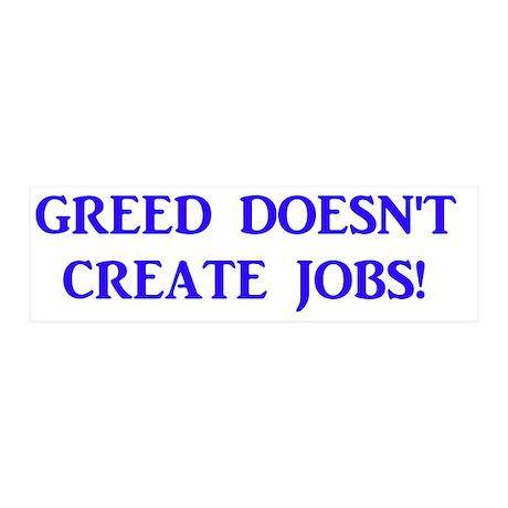 greed 20x6 Wall Decal