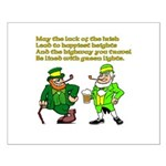 Luck of the Irish Small Poster