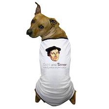Saint and Sinner Dog T-Shirt
