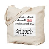 Schipperke World Tote Bag