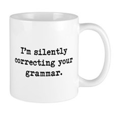 Grammar Coffee Mug