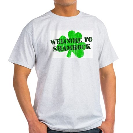 Welcome to Shamrock Light T-Shirt