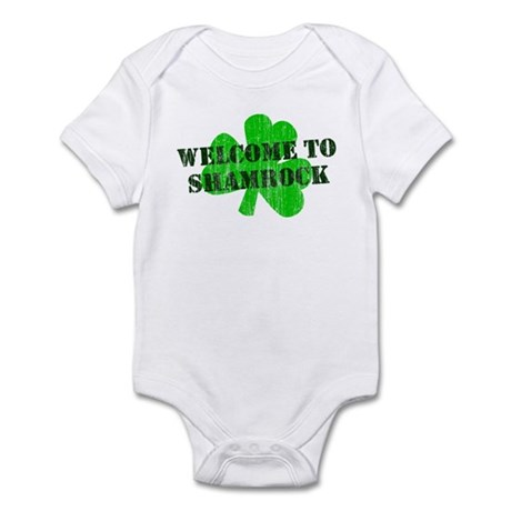 Welcome to Shamrock Infant Bodysuit